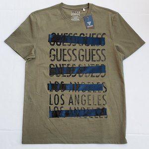 New Men's GUESS Olive Green Shirt sz M